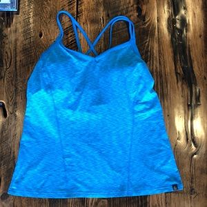 The North Face Tank With Built In Bra. EUC!